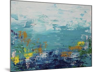 Blue Lake-Hilary Winfield-Mounted Giclee Print
