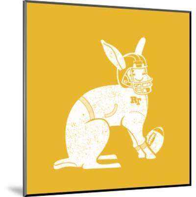 Wabbit Yellow-Jimmy Messer-Mounted Giclee Print