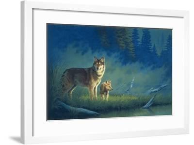 Misty Morning-Joh Naito-Framed Giclee Print
