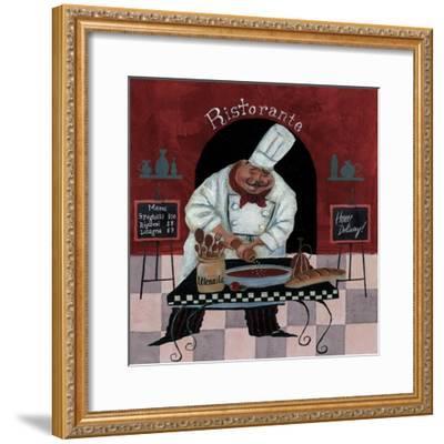 Chef Kitchen Menus-Gregg DeGroat-Framed Giclee Print