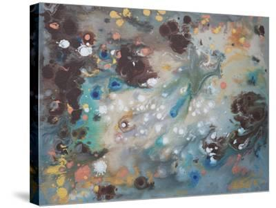 Modern Universe 1-Hilary Winfield-Stretched Canvas Print