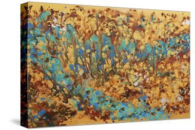 Liquid Energy XVI-Hilary Winfield-Stretched Canvas Print
