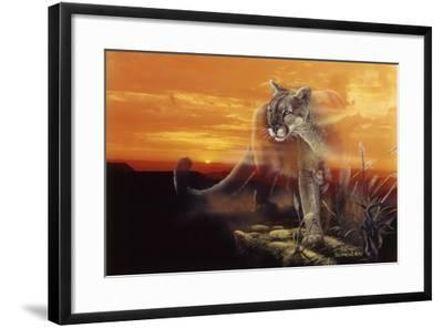 Ghost of the Badlands-Gordon Semmens-Framed Giclee Print