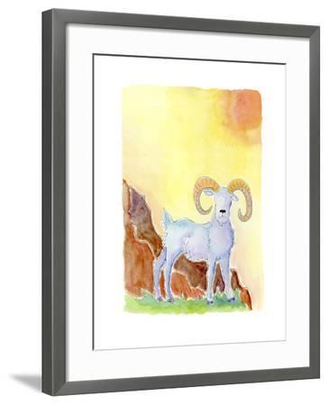 Aries-Jennifer Zsolt-Framed Giclee Print