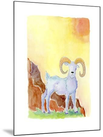 Aries-Jennifer Zsolt-Mounted Giclee Print
