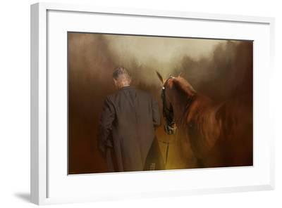 A Moment of Silence-Jai Johnson-Framed Giclee Print