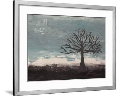 Abstract Tree II-Hilary Winfield-Framed Giclee Print