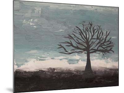 Abstract Tree II-Hilary Winfield-Mounted Giclee Print