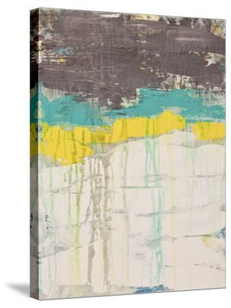 Lithosphere 106-Hilary Winfield-Stretched Canvas Print
