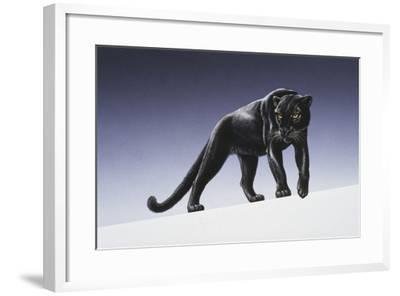 Black Panther-Harro Maass-Framed Giclee Print