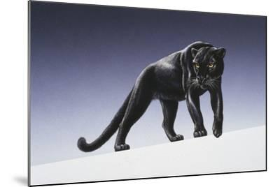 Black Panther-Harro Maass-Mounted Giclee Print