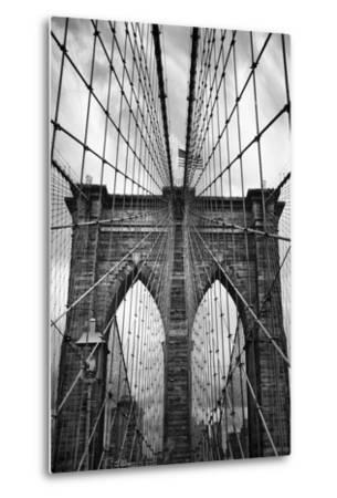 Brooklyn Bridge Mood-Jessica Jenney-Metal Print