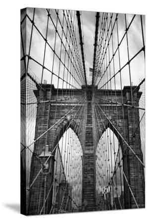 Brooklyn Bridge Mood-Jessica Jenney-Stretched Canvas Print
