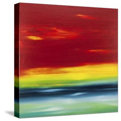 Sunset 1-Hilary Winfield-Stretched Canvas Print