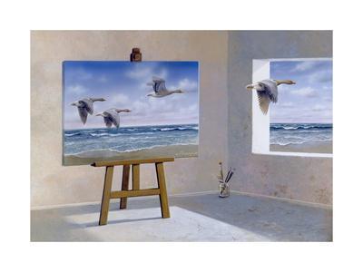 Goose-Harro Maass-Framed Giclee Print