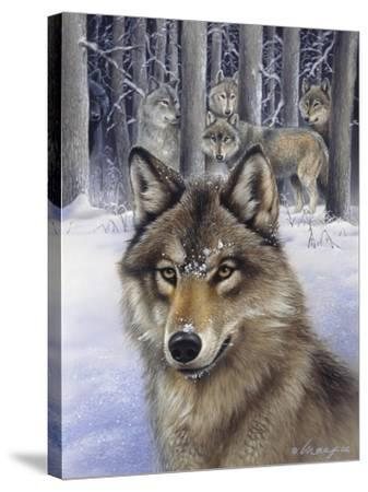 Wolfpack-Harro Maass-Stretched Canvas Print
