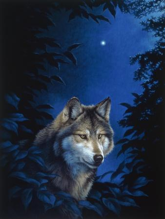 Blue Forest-Joh Naito-Framed Giclee Print