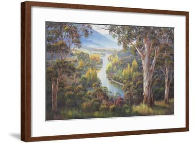 Tumut Atmospherics-John Bradley-Framed Giclee Print