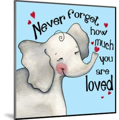 Never Forget Elephant-Jennifer Nilsson-Mounted Giclee Print