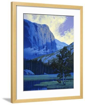 Elk-Joh Naito-Framed Giclee Print