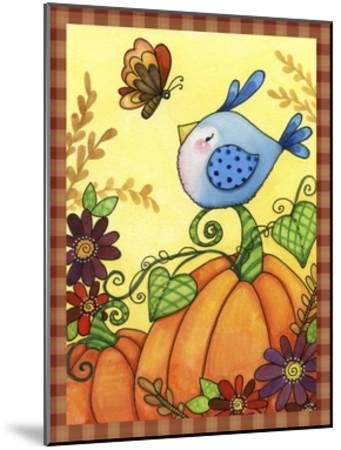 Pumpkin Bird-Jennifer Nilsson-Mounted Giclee Print
