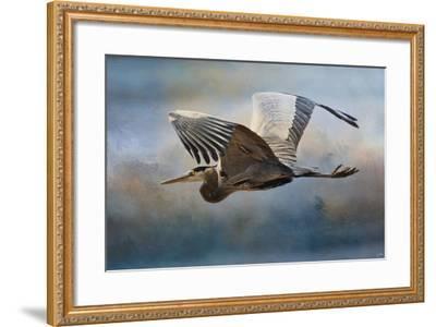 Over Ocean Skies-Jai Johnson-Framed Giclee Print