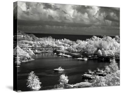 St. Lucia-J.D. Mcfarlan-Stretched Canvas Print