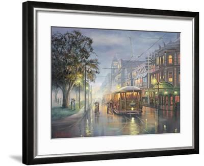Home on the Rattler-John Bradley-Framed Giclee Print