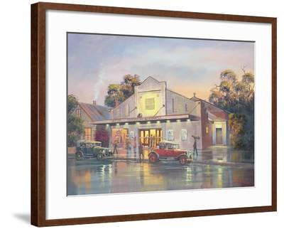 A Night at the Movies-John Bradley-Framed Giclee Print