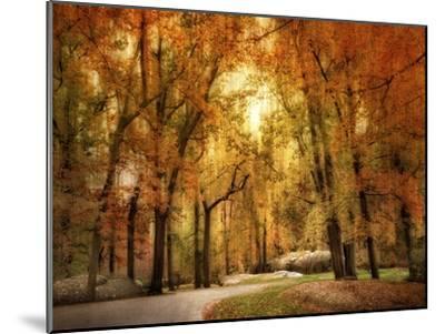 Autumn Impressions-Jessica Jenney-Mounted Giclee Print