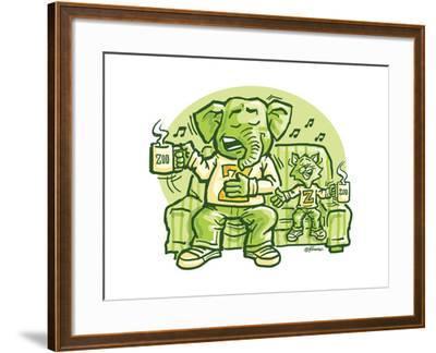 The Duet-Jerry Gonzalez-Framed Giclee Print