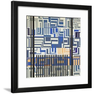Abstract-Manuel Ros-Framed Giclee Print
