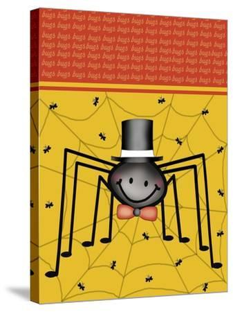 Spider 1-Maria Trad-Stretched Canvas Print