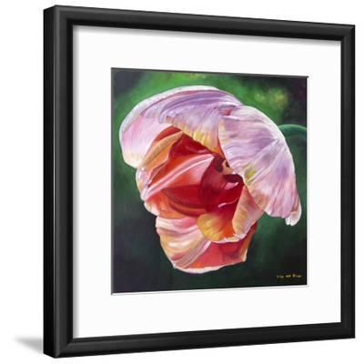 Lit Tulip 2-Lily Van Bienen-Framed Giclee Print