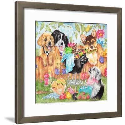 Hot Dogs-Karen Middleton-Framed Giclee Print