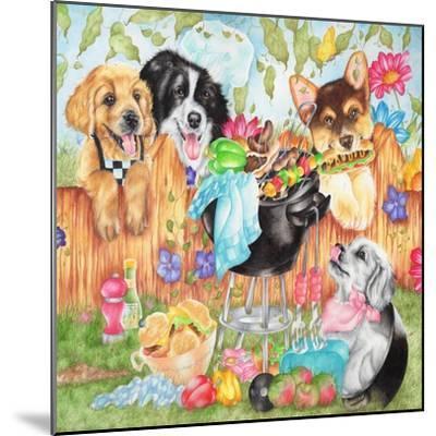 Hot Dogs-Karen Middleton-Mounted Giclee Print