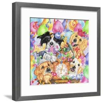 Happy New Year-Karen Middleton-Framed Giclee Print