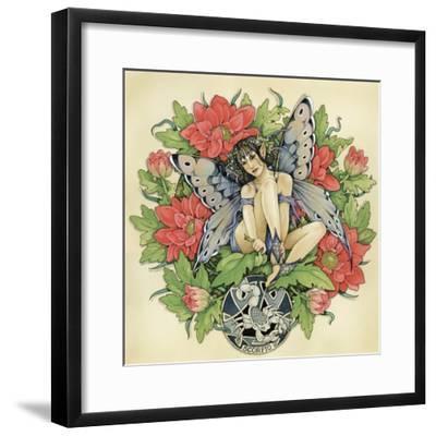Scorpio-Linda Ravenscroft-Framed Giclee Print