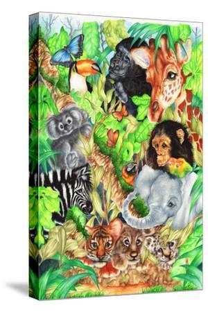 Jungle-Karen Middleton-Stretched Canvas Print