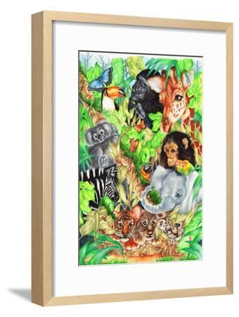 Jungle-Karen Middleton-Framed Giclee Print