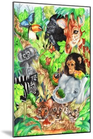 Jungle-Karen Middleton-Mounted Giclee Print