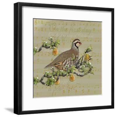 Partridge in a Pear Tree-Leslie Wing-Framed Giclee Print
