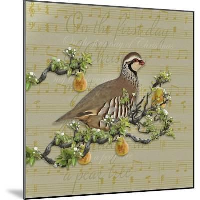 Partridge in a Pear Tree-Leslie Wing-Mounted Giclee Print