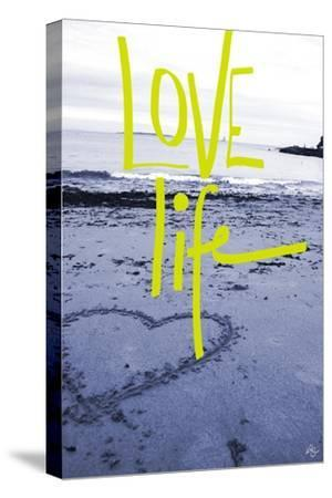 Love life-Kimberly Glover-Stretched Canvas Print