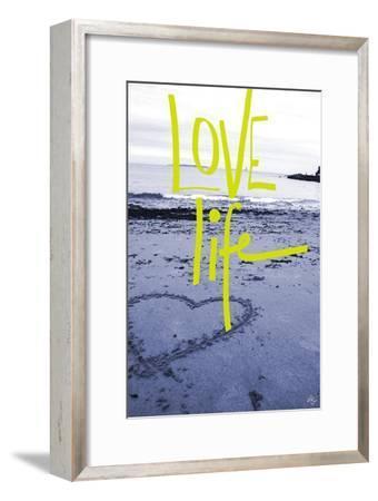 Love life-Kimberly Glover-Framed Premium Giclee Print