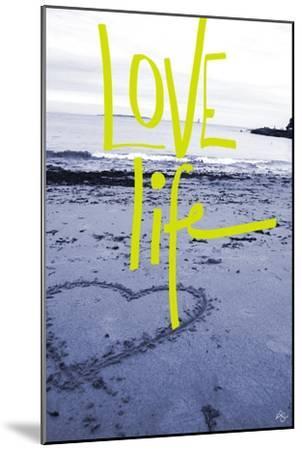 Love life-Kimberly Glover-Mounted Giclee Print
