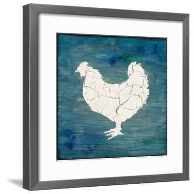 Farm Chicken-LightBoxJournal-Framed Giclee Print