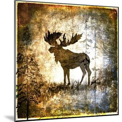 High Country Moose-LightBoxJournal-Mounted Giclee Print