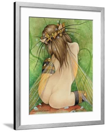 Cheeky-Linda Ravenscroft-Framed Giclee Print