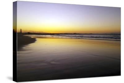 Australian Sunset 1-Karen Williams-Stretched Canvas Print